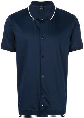 HUGO BOSS buttoned polo shirt