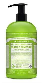 Dr. Bronner's Shikakai Hand And Body Soap 710Ml - Lemongrass/Lime