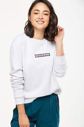 Cotton On Ferguson Graphic Crew Sweater