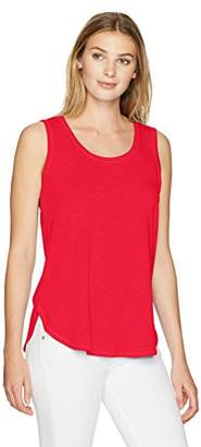 Ruby Rd. Women's Plus Size Solid Knit French Terry Tank
