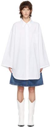Acne Studios White Bla Konst Mazion Shirt