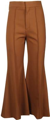 Chloé Flared Cropped Trousers
