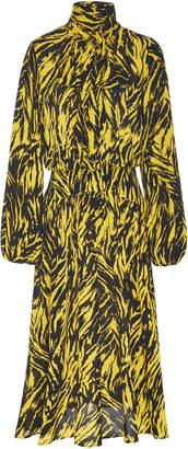 N°21 N 21 Anita Blouson Sleeve Crepe Dress