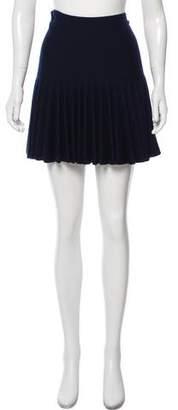 Chanel Wool Mini Skirt