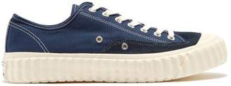 Excelsior Workman Canvas Low Top Trainers - Mens - Blue