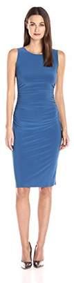 Norma Kamali Women's Sleeveless Shirred Waist Dress in