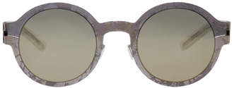 Maison Margiela Gunmetal Mykita Edition MMtransfer003 Sunglasses