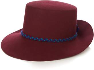 Yosuzi Tanaina fur-felt hat