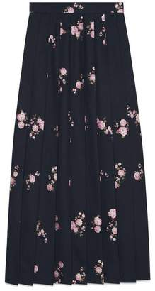 Gucci Floral fil coupe maxi skirt