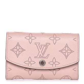 Louis Vuitton Coin Purse Anae Monogram Mahina Magnolia