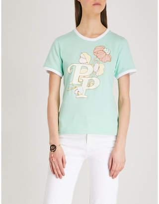 Peter Pilotto PP floral-print cotton-jersey T-shirt