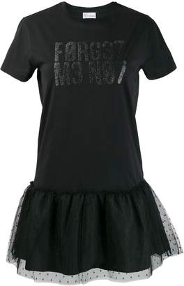 RED Valentino tulle detail dress