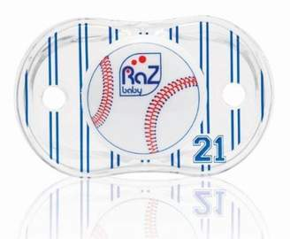 Razbaby Keep-It-Kleen Pacifier, Baseball, 0-36 Months (Discontinued by Manufacturer) by