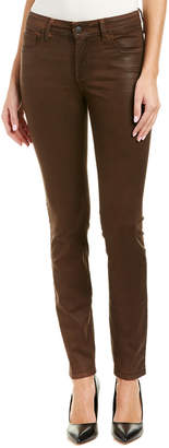 NYDJ Alina Mahogany Brown Coated Legging