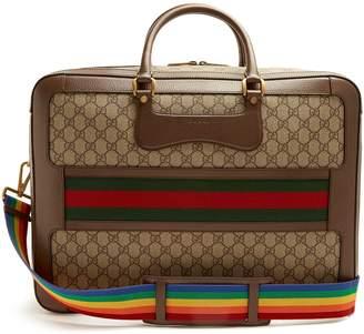 Gucci GG Supreme Echo canvas weekend bag
