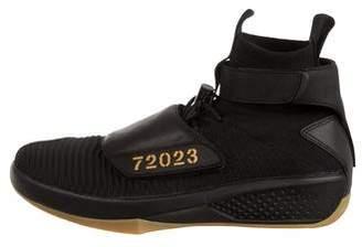 Nike Jordan XX Flyknit R&B/ Melo High-Top Sneakers w/ Tags