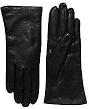 Saks Fifth Avenue Women's Cashmere-Lined Leather Gloves