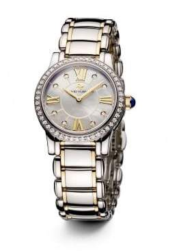 David Yurman Classic 30Mm Quartz Watch With 18K Gold And Diamonds