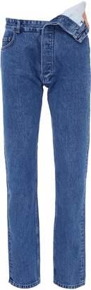 Y/Project Asymmetric waist jeans