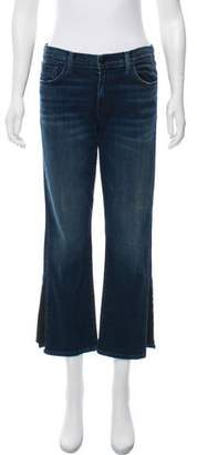 J Brand Mid-Rise Straight-Leg Selena Jeans w/ Tags