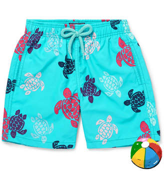 Vilebrequin Boys Ages 10 - 12 Jim Printed Shell Swim shorts - Blue