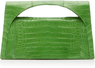 Nancy Gonzalez Sammi Keyhole Crocodile Clutch