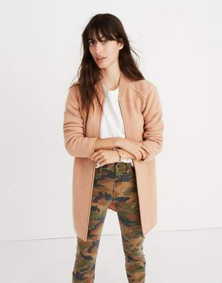 Madewell Bomber Sweater-Jacket