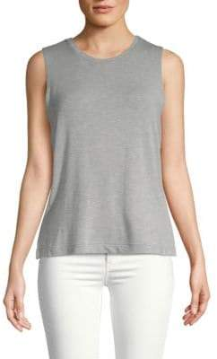 Club Monaco Drue Heathered Tank Top