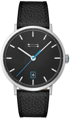Uri Minkoff Norrebro Leather Strap Watch, 40mm