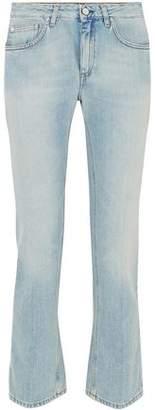 Totême Faded Mid-rise Straight-leg Jeans