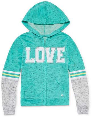 Xersion Full Zip Hoodie Jacket - Girls' Sizes 4-16 and Plus