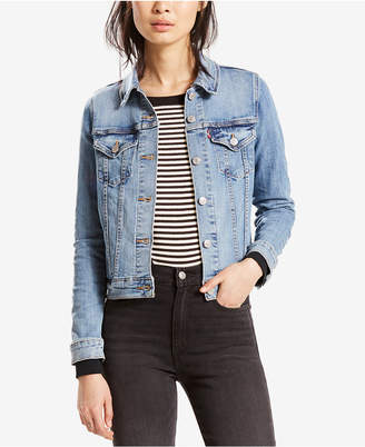 Levi's Original Denim Trucker Jacket, a Macy's Exclusive Style $64.50 thestylecure.com
