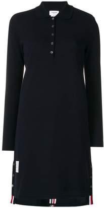 Thom Browne long-sleeve polo dress