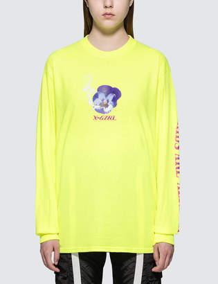 X-girl X Girl Cheeky Pansy L/S T-Shirt