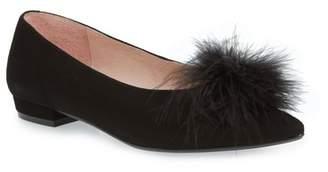 Patricia Green Maribou Feather Pouf Flat (Women)