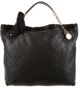 Lanvin Quilted Amalia Cabas Tote $430 thestylecure.com