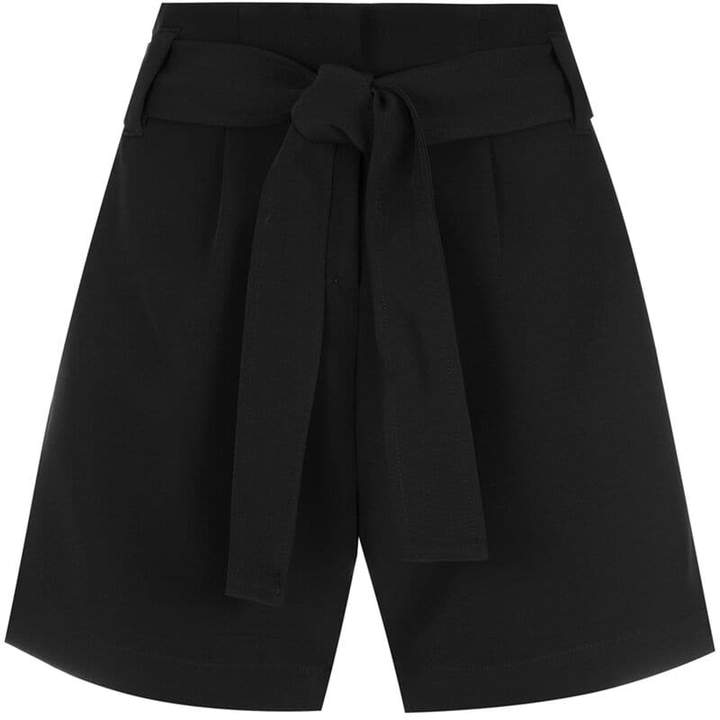 Olympiah belted waist shorts