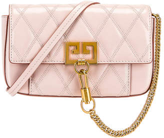 Givenchy Mini Pocket Chain Bag in Pale Pink | FWRD