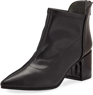 Adrianna Papell Pointed Block-Heel Booties