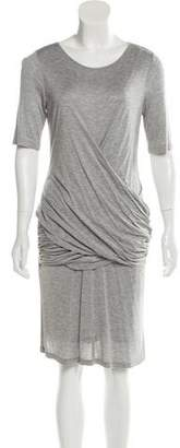 Burberry Knit Ruched Dress