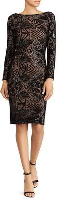 Lauren Ralph Lauren Sequin Sheath Dress