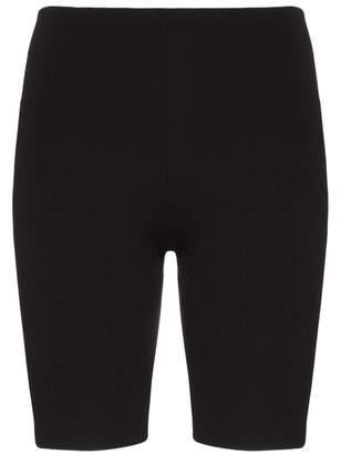 Paco Rabanne logo cycling shorts