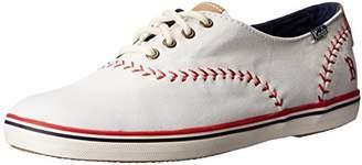 Keds Women's Champion MLB Pennant Baseball Fashion Sneaker $36.99 thestylecure.com