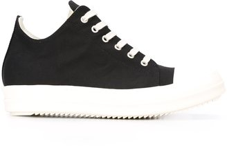 Rick Owens DRKSHDW lace-up sneakers $635 thestylecure.com