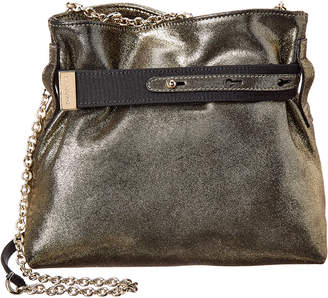 Lanvin V Small Leather Shoulder Bag