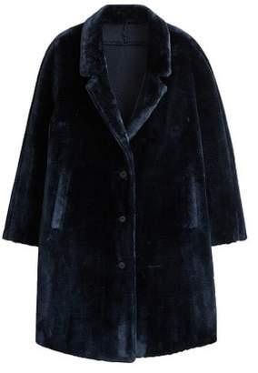 MANGO Violeta BY Lapels faux fur coat