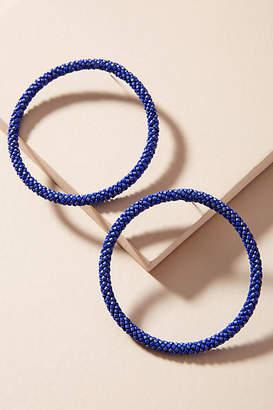 Mishky Hula Hoop Post Earrings