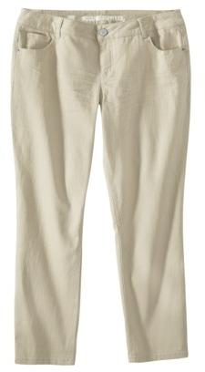 Mossimo Women's Plus-Size Denim Crop Jeans - Assorted Colors