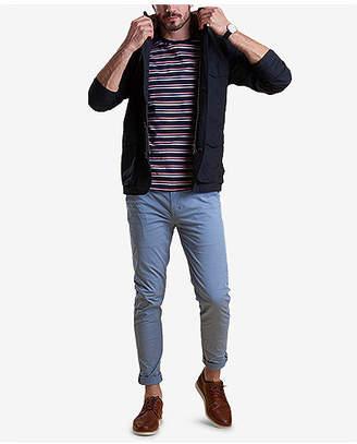 Barbour Men's Neuston Slim-Fit Stretch Light Blue Chinos