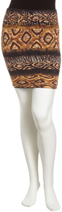 Torn By Ronny Kobo Nala Mini Skirt